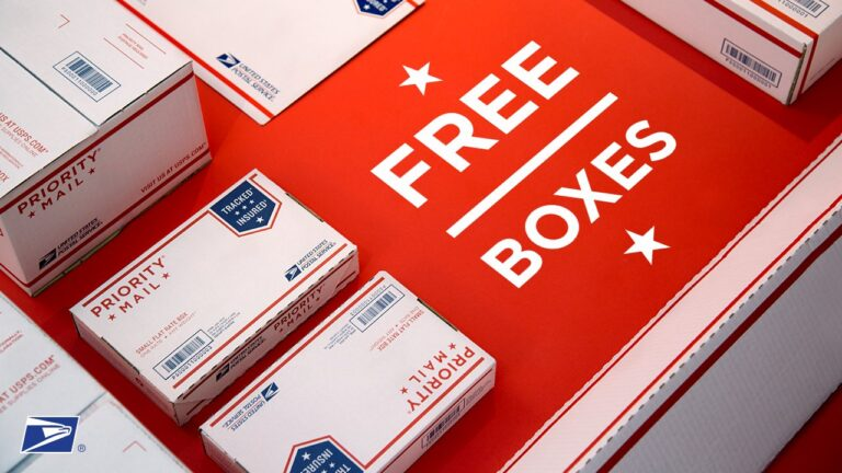 Free USPS Boxes and Envelopes