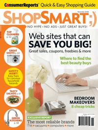 As seen in Shop Smart Magazine