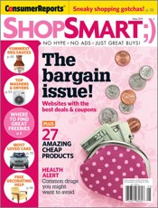 As seen in Shop Smart magazine, May 2011