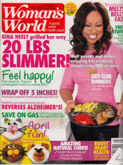 As seen in Woman's World magazine, April 2013
