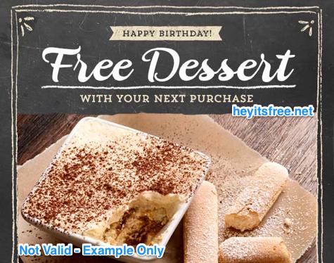 Romano's Macaroni Grill Birthday Freebie