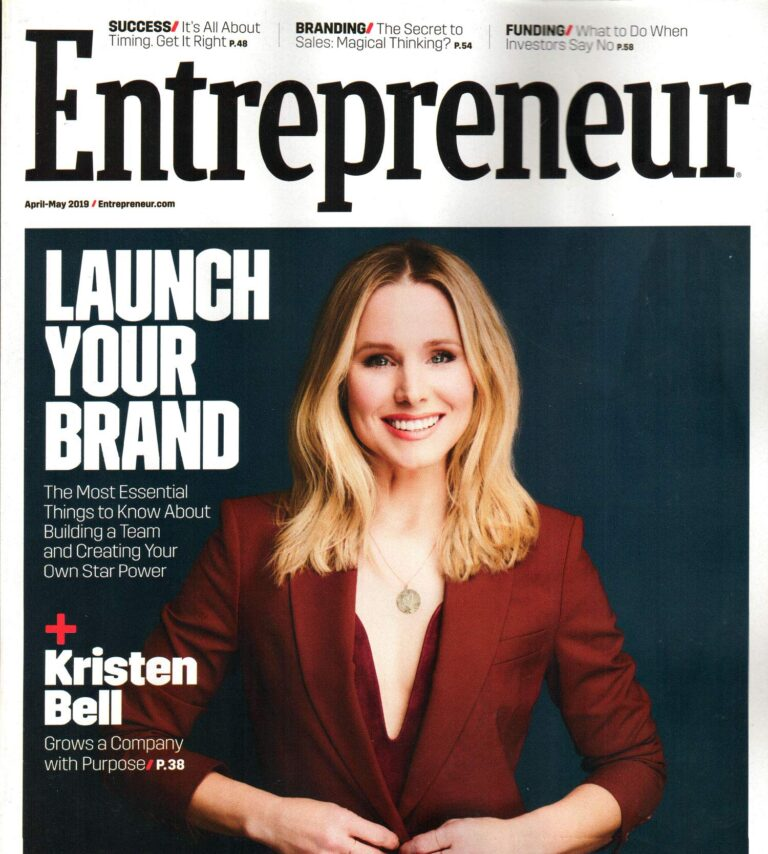 Free Entrepreneur Magazine Subscription