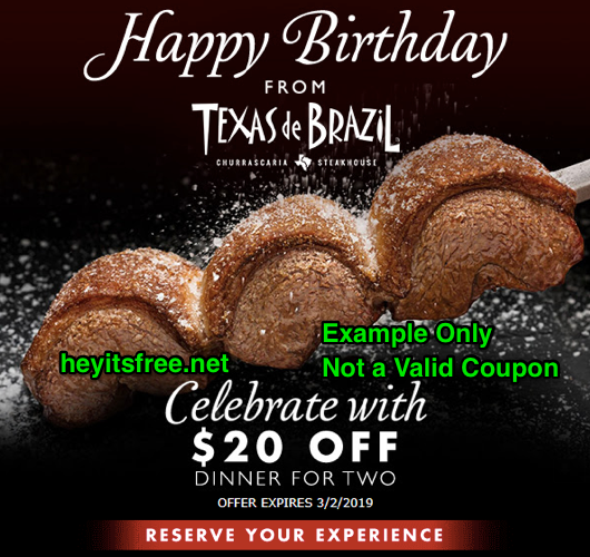 image about Texas Roadhouse Printable Coupon named Texas Roadhouse Birthday Freebie