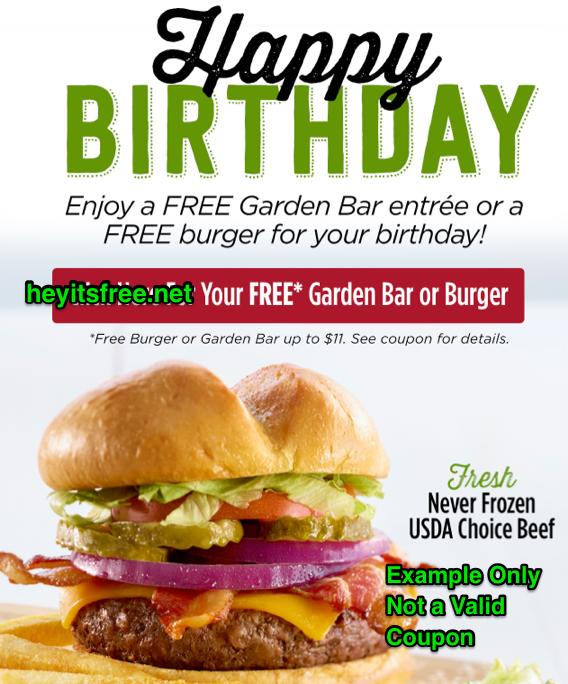 Ruby Tuesday Birthday Freebie