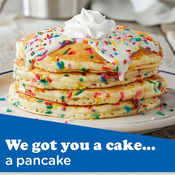 Free IHOP Birthday Freebie