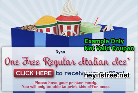 Free Rita's Italian Ice