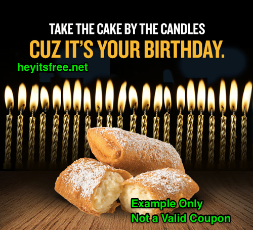 Taco Bueno Birthday Freebie
