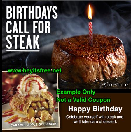 Longhorn Steakhouse Birthday Freebie