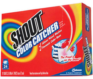 Free Shout Color Catcher
