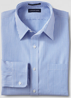 Lands End No Iron Pinpoint Shirts
