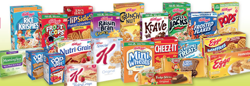 Current Free Kellogg's Family Rewards Points
