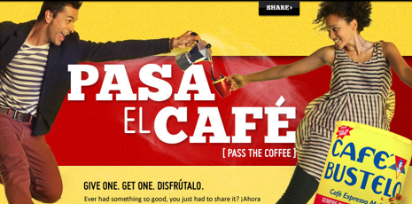 Free Cafe Bustelo Coffee