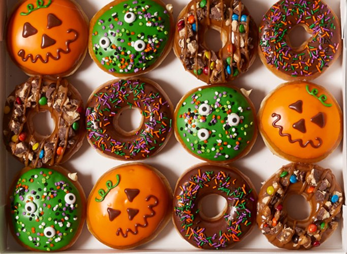 Free Krispy Kreme Halloween Doughnuts