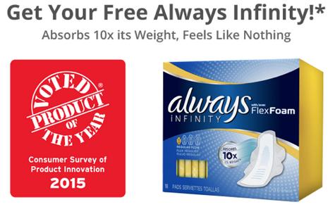 free always infinity pads sample