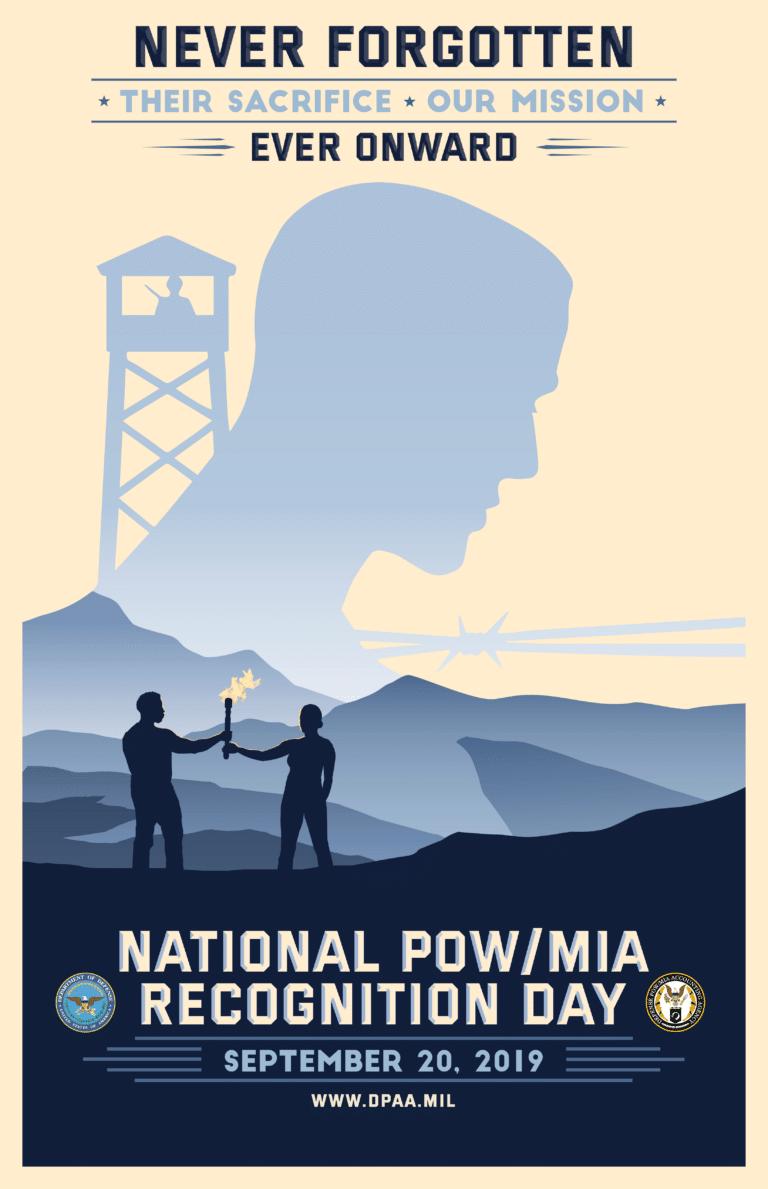 Free POW MIA Recognition Day Poster