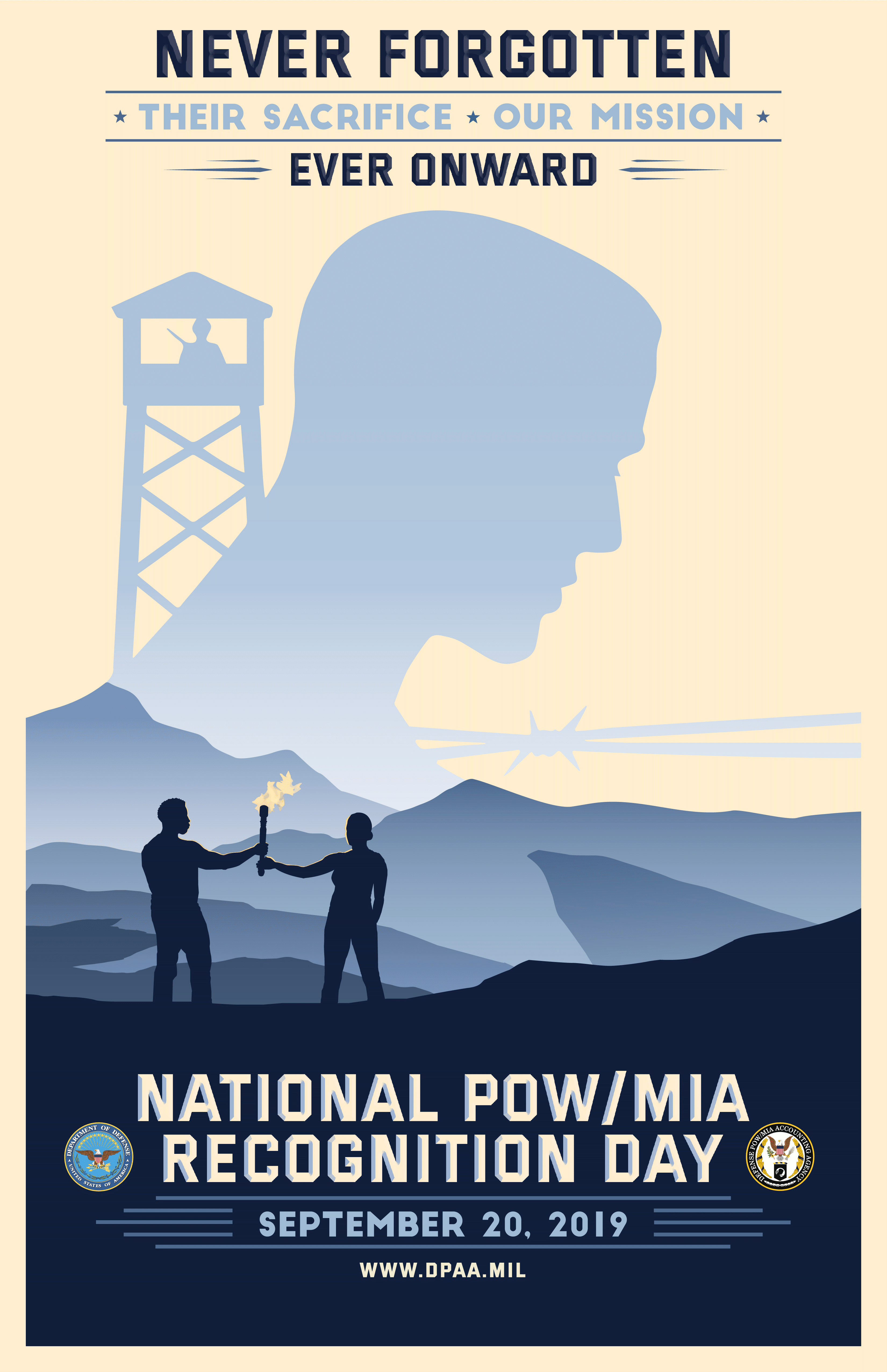 Free POW MIA Recognition Day Poster