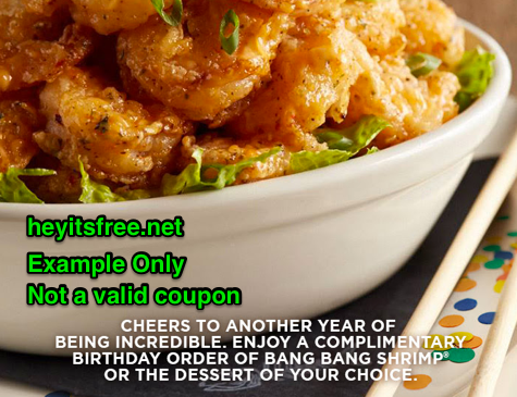 image about Bonefish Grill Printable Coupon identify Bonefish Grill Birthday Freebie