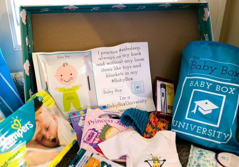 Ohio 2017 Baby Box