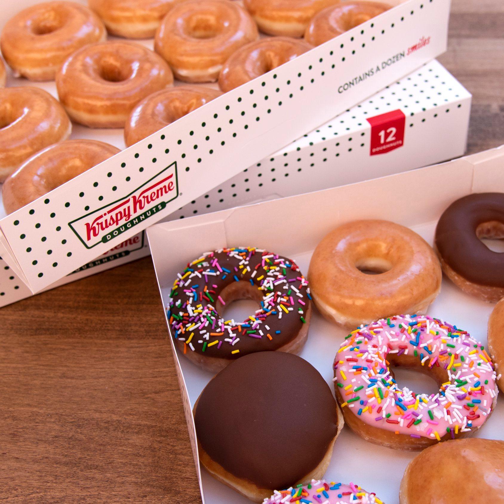 Free Krispy Kreme Doughtnut