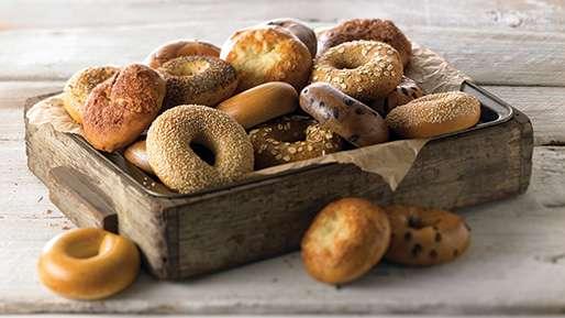 Free Panera Bread Bagels All Month