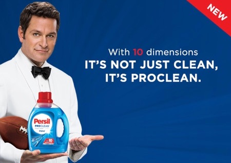 Free Persil ProClean Laundry Detergent