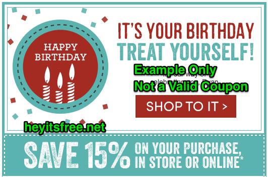World Market Birthday Freebie
