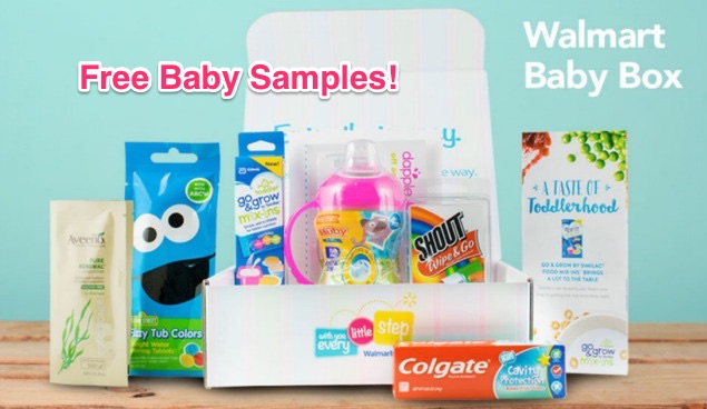 Free Walmart Baby Sample Box