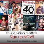 Free RewardSurvey Magazine Subscriptions