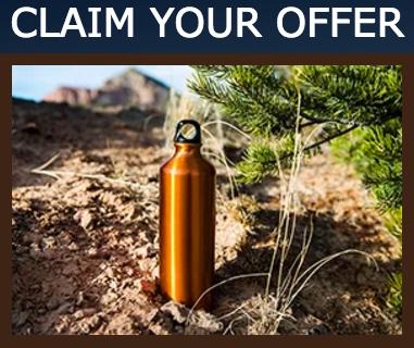 Free Marlboro Aluminum Water Bottle