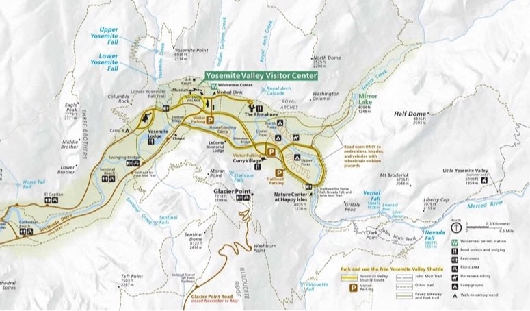 Free National Park Maps