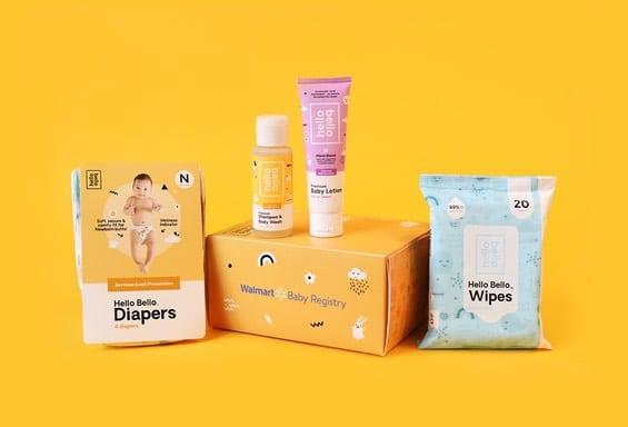 Free WalMart Hello Bello Baby Box