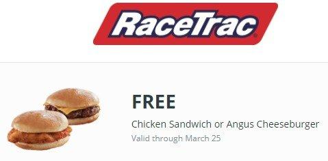 Free RaceTrac Food