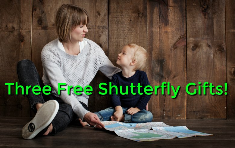 Free Shutterfly Gifts