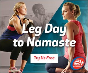 Free Gym Pass at 24 Hour Fitness
