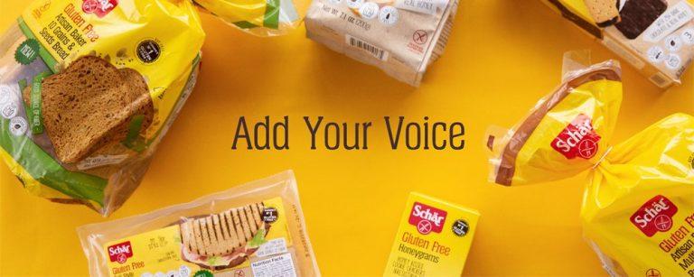 Free Schar Gluten Free Care Package