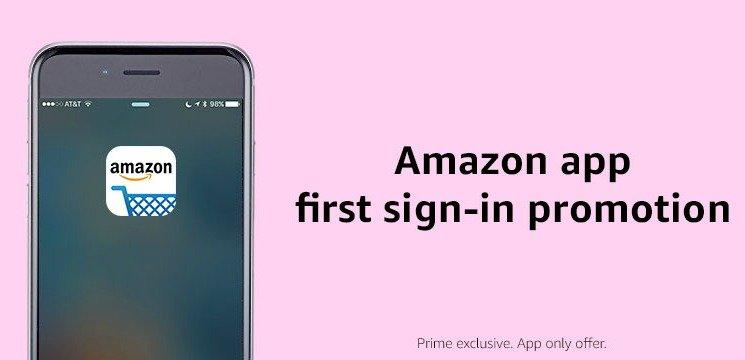 Amazon App Free Credit Promo
