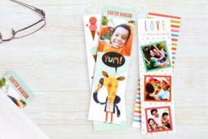Free Custom Photo Bookmarks