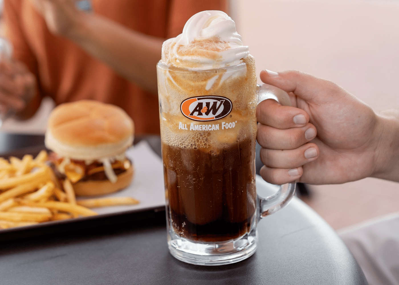 Free A&W Root Beer Float