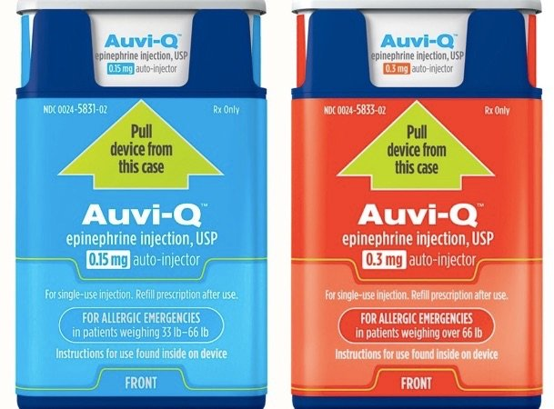 Free Auvi-Q Epinephrine Injection