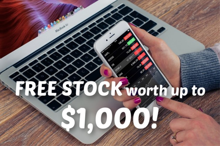 Free Stock Share from Webull