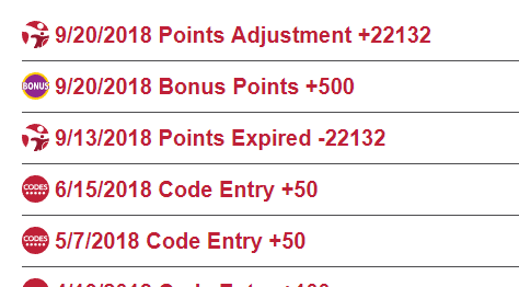 Kelloggs Family Rewards Points Reminder