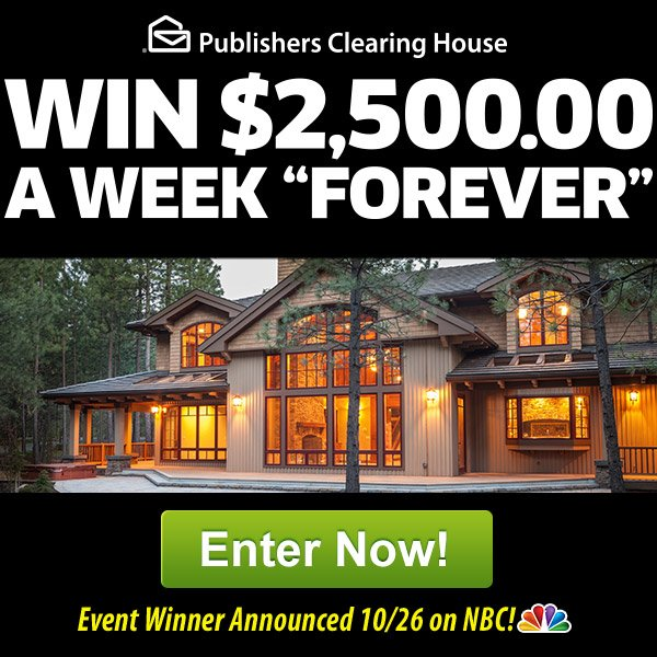 PCH Weekly Money Contest
