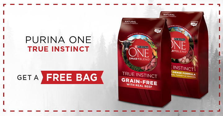 Free Purina ONE True Instinct Dog Food