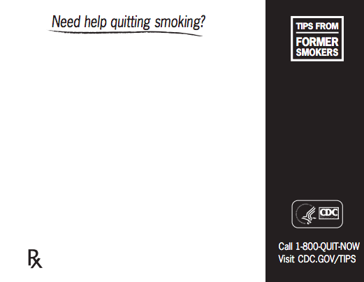 Free Quit Smoking Notepad