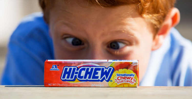 Free Hi-Chew Fruit Candy