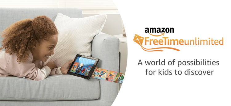 Free Amazon FreeTime Unlimited Family Trial