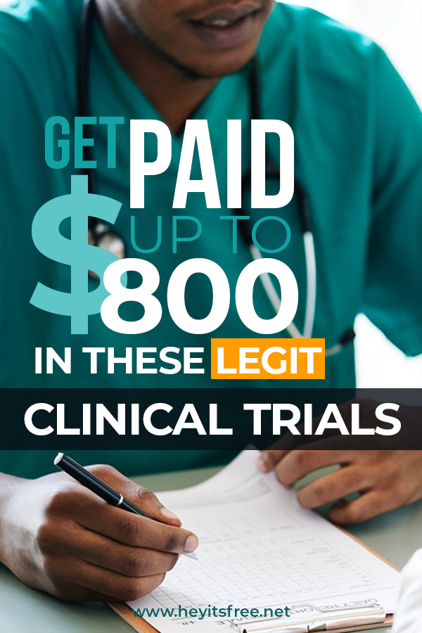 Free Paid Clinical Trials