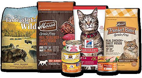Petco Free Bag of Dog or Cat Food