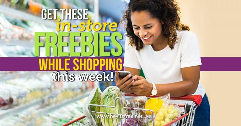 Drugstore and Shopping Freebies Availble this Week