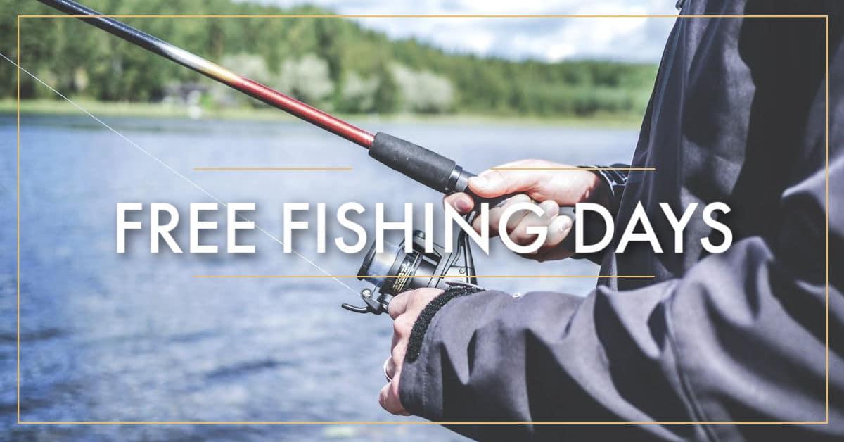 2021 Free Fishing Days